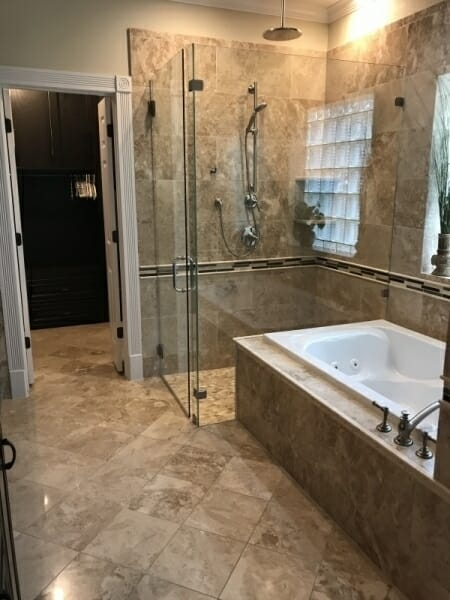 Custom Bathroom 1