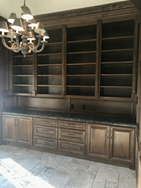 Custom Built In Cabinets 3