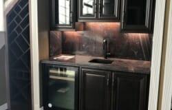 Custom Built In Cabinets Wet Bar