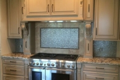 Custom built in kitchen appliances