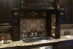 Custom Kitchen Solid Wood Cabinets