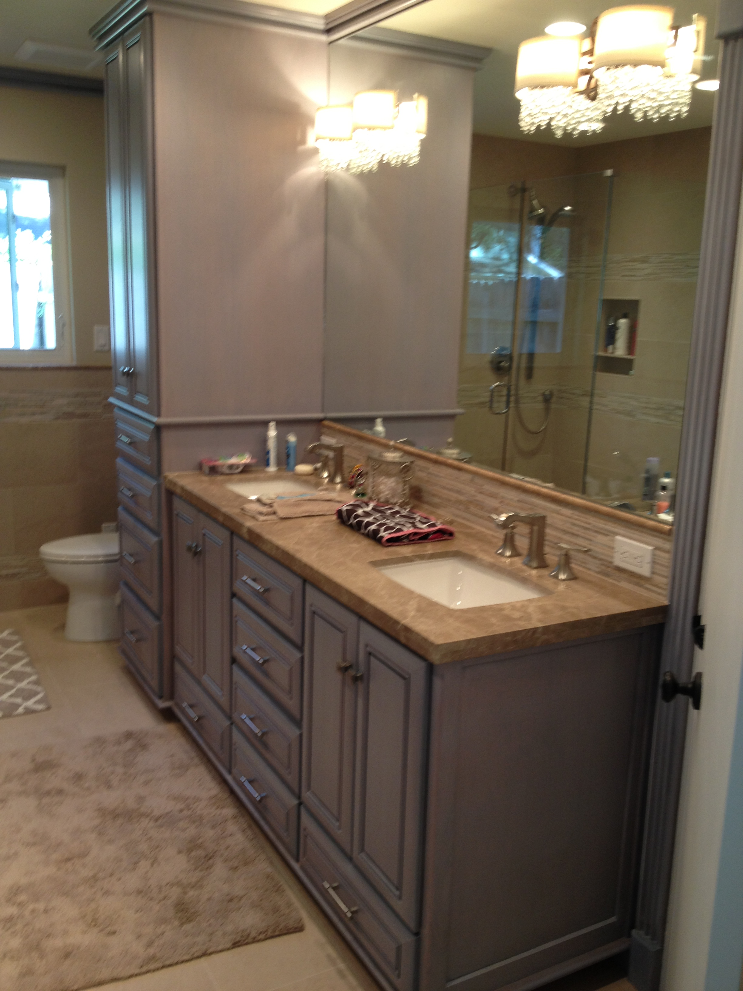 custom kitchen cabinets houston by dc kitchens and baths On custom bathroom remodeling